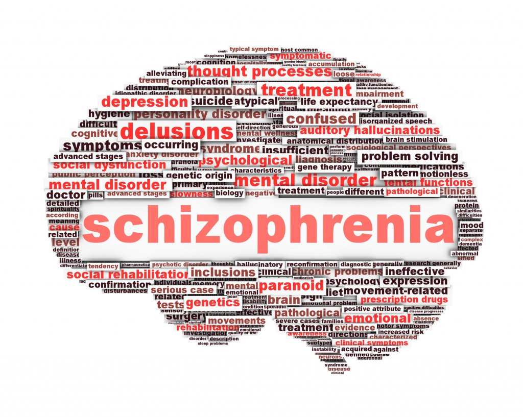 scientific study show schizophrenia can be caused by a genetic flaw A landmark study, based on genetic was led by researchers from the broad institute's had a higher risk of developing schizophrenia connecting cause.